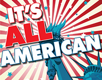 "eBook Cover ""It's All American"""