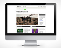 Getty Images web design