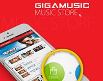 Music App Rendering in iPhone
