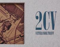 Folder, 2CV veteran car event