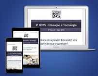 Responsive Newsletter - EnsinoIP