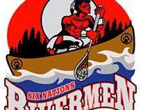 Six Nations Rivermen - Lacrosse Team Logo
