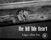 Tell Tale Heart Book Cover Design