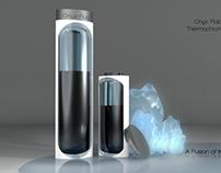 Water Bottle - Onyx Fluid