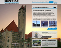 Superior Waterproofing Website