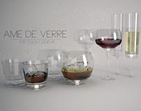 Amé De Verre- Temperature Sensing Luxury Liquor Glasses