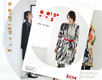 ISETAN CLOVER SHOP Look book