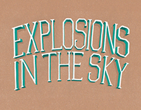 Explosions in the Sky - Lettering