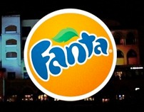 Fanta Projection Mapping in Dubai