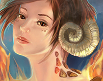 Fantasy Zodiac Portraits