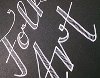 RaktArt - logotype and typo