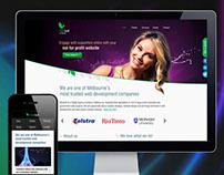 Mintleaf Website Design