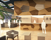Hotel Reception & Lobby Bar Design