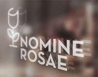 Nomine Rosae - brand identity
