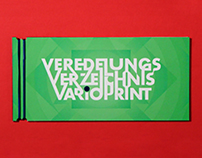 VARIOPPRINT —finishing catalog