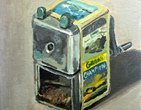 Sharpener with Fascinating Pictures