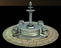 Game Asset - Fountain