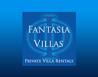 logo and site design for www.fantasiavillas.com