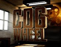 Cogwheel Room / 3D Illustration