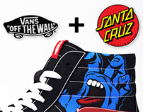 Vans & Santa Cruz Skateboards Collaboration