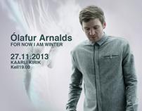 Olafur Arnalds . Tallinn. Estonia. 27.11.2013