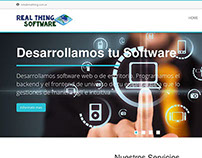 Real Thing Software - Website
