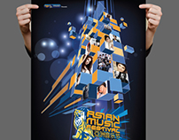 Tiger Asian Music Festival Poster Design