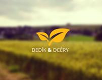Dedikadcery.sk | identity & website