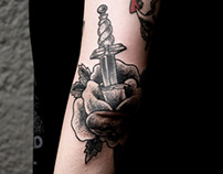 Dagger and Rose