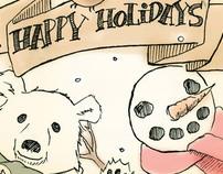 Holiday 2010 Postcard