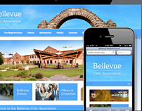 Bellvue Civic Association Website Design