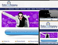 Fotomehappy Website Design