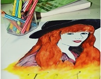 DRAWING & COLORING: TAYLOR SWIFT