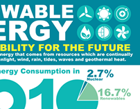 Rewnewable Energy Infographic
