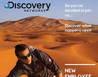 Discovery Recruitment handbooks