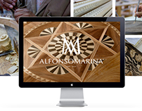 Alfonso Marina - Website and App Design