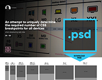 Free PSD for adaptive layouts