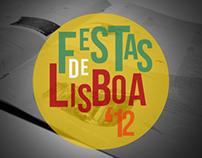 """""""Festas de Lisboa 2012"""" Newsletter"""