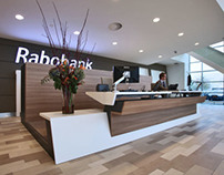 Reception desk, Rabobank Woerden, the Netherlands
