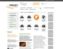 Parquet webshop