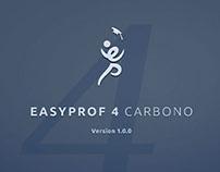 Propuesta gráfica - EasyProf 4 Carbono Edition