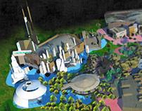 Theme Park Conceptualization/Visualization