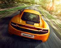 McLaren _ iphone Photography - Retouching