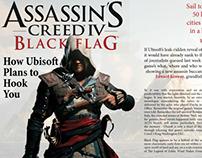 Assassin's Creed IV Magazine Spread