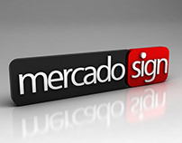 Logo mercado sign imported products