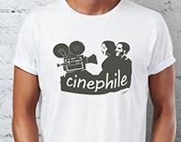 T-shirt design for cinephiles