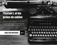 La trotteuse - short novel online
