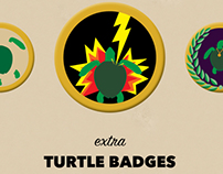 DISNEY: SEA TURTLE BADGE PROJECT