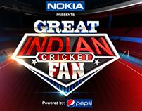 Great Indian Cricket fan