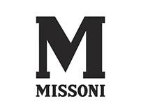 M Missoni Logo & Identity